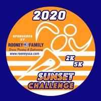 Sunset Challenge circular logo